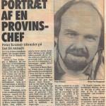 Portræt af en priovinschef, Peter Kramer